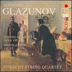 Glazunov: String Quartets, Vol. 4