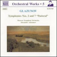 Glazunov: Symphonies Nos. 2 & 7 - Moscow Symphony Orchestra; Alexander Anissimov (conductor)