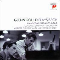 Glenn Gould Plays Bach: Piano Concertos Nos. 1-5 & 7 - Glenn Gould (piano); Columbia Symphony Orchestra