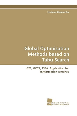 Global Optimization Methods Based on Tabu Search - Stepanenko, Svetlana