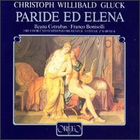 Gluck: Paride Ed Elena - Anne Tedards (soprano); Anthony Spiri (harpsichord); Franco Bonisolli (tenor); Gabriele Fontana (soprano);...