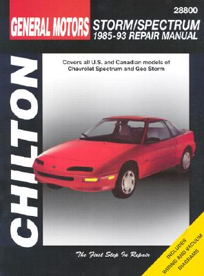 GM Storm and Spectrum, 1985-93 Chevrolet Spectrum/Geo Storm - Chilton Automotive Books, and The Nichols/Chilton, and Chilton