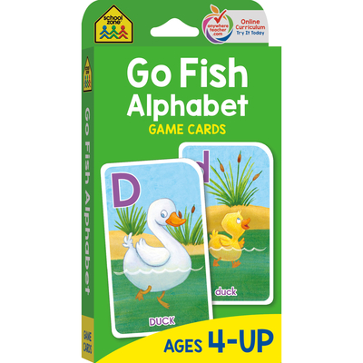 Go Fish-Game Cards - School Zone Publishing