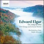 Go, Song of Mine: Part-Songs and Choral Works by Edward Elgar