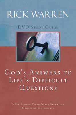 God's Answers to Life's Difficult Questions: A Six-Session Video-Based Study for Groups or Individuals - Warren, Rick, D.Min.