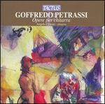 Goffredo Petrassi: Opere per chittarra