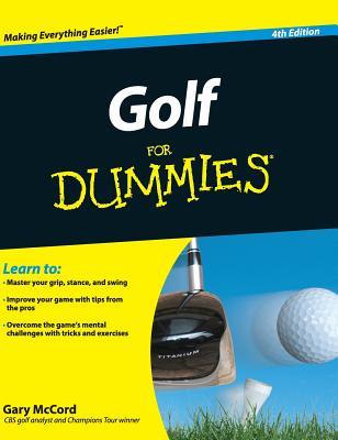 Golf for Dummies - McCord, Gary