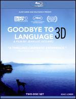 Goodbye to Language 3D [3 Discs] [3D] [Blu-ray] - Jean-Luc Godard