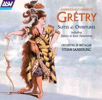 Grétry: Suites & Overtures - Orchestre de Bretagne; Stefan Sanderling (conductor)