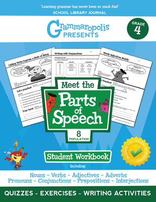 Grammaropolis: The Parts of Speech Workbook, Grade 4 - Voorhees, Coert, and Grammaropolis