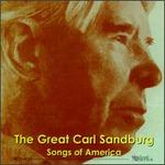 Great Carl Sandburg: Songs of America