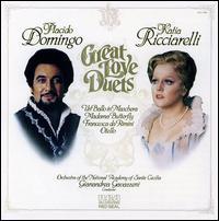 Great Love Duets - Katia Ricciarelli (soprano); Pl�cido Domingo (tenor); Accademia di Santa Cecilia Orchestra; Gianandrea Gavazzeni (conductor)