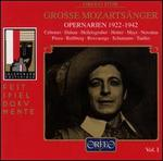 Great Mozart Singers, Vol. 1: Opera Arias 1922-1942