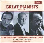 Great Pianists, Vol. 2: Brailowsky, Cherkassky, Serkin
