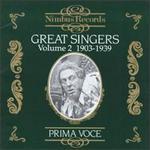 Great Singers, Vol. 2, 1903-1939