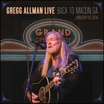 Gregg Allman Live: Back to Macon, GA [2CD/1DVD]