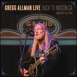 Gregg Allman Live: Back to Macon, GA [2CD/Blu-Ray]