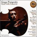 Gregor Piatigorsky Plays Great Cello Concertos