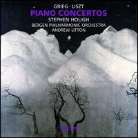 Grieg, Liszt: Piano Concertos - Mats Lidstrom (cello); Stephen Hough (piano); Bergen Philharmonic Orchestra; Andrew Litton (conductor)