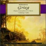 """Grieg: Piano Concerto; """"Holberg"""" Suite"""