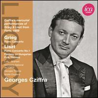 Grieg: Piano Concerto; Liszt: Piano Concerto No. 1; Etc. - György Cziffra (piano); Orchestre National De L'ORTF