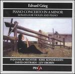 Grieg: Piano Concerto; Sonata for Violin & Piano