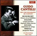 Guido Cantelli Conducts Mussorgsky, Wagner, Roussel & Berlioz