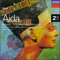 Guiseppe Verdi: Aida - Aldo Protti (vocals); Dario Caselli (drums); Dario Caselli (vocals); Ebe Stignani (vocals); Fernando Corena (bass);...