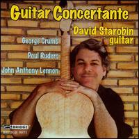Guitar Concertante - Benjamin Hudson (violin); Carol Zeavin (violin); Charles Neidich (clarinet); Daniel Druckman (percussion);...