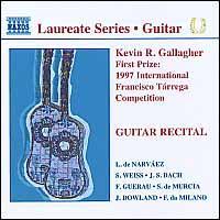 Guitar Recital - Kevin R. Gallagher (guitar)