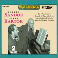 Gyorgy Sandor Plays Bartók -