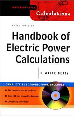 Handbook of Electric Power Calculations - Beaty, Wayne, and Beaty, H Wayne, and Beaty H