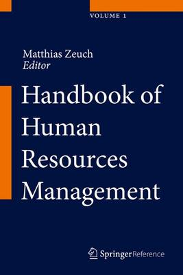 Handbook of Human Resources Management - Zeuch, Matthias (Editor)