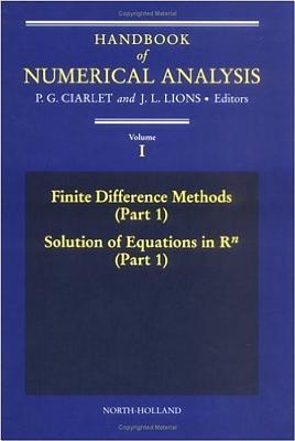 Handbook of Numerical Analysis - Ciarlet, Philippe G