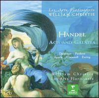 Handel: Acis and Galatea - Alan Ewing (bass); Andrew Sinclair (tenor); Francois Piolino (tenor); Joseph Cornwell (tenor); Les Arts Florissants;...