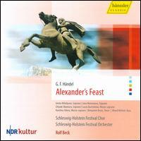Handel: Alexander's Feast - Aneta Mihályová (soprano); Benjamin Bruns (tenor); Chiyuki Okamura (soprano); Karolina Sikora (mezzo-soprano);...