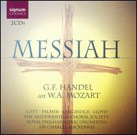 Handel (arr. Mozart): Messiah - Felicity Lott (soprano); Felicity Palmer (alto); John Birch (continuo); John Birch (organ); Philip Langridge (tenor);...