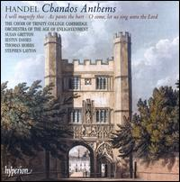 Handel: Chandos Anthems - Iestyn Davies (counter tenor); Susan Gritton (soprano); Thomas Hobbs (tenor);...