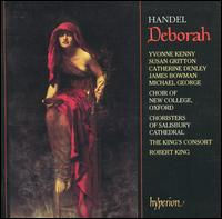 Handel: Deborah - Adrian Peacock (bass); Catherine Denley (mezzo-soprano); Colin Campbell (baritone); James Bowman (counter tenor);...