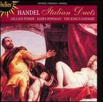 Handel: Italian Duets - David Miller (archlute); Gillian Fisher (soprano); James Bowman (counter tenor); Jane Coe (cello); Robert King (harpsichord);...