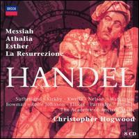 Handel: Messiah; Athalia; Esther; La Resurrezione - Aled Jones (vocals); Andrew King (vocals); Anthony Rolfe Johnson (vocals); Carolyn Watkinson (contralto);...