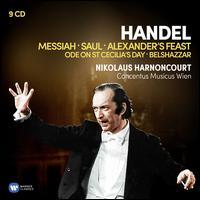 Handel: Messiah; Saul; Alexander's Feast - Anthony Rolfe Johnson (tenor); Concentus Musicus Wien; Dietrich Fischer-Dieskau (baritone); Elizabeth Gale (soprano);...