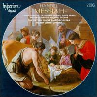 Handel: Messiah - Catherine Denley (contralto); David James (counter tenor); Lynne Dawson (soprano); Maldwyn Davies (tenor);...