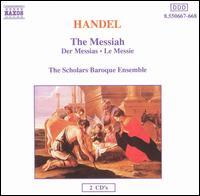 Handel: Messiah - Adrian Peacock (bass); Angus Davidson (counter tenor); David van Asch (bass); Frances Jellard (contralto);...