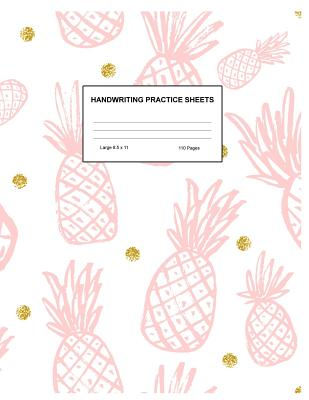 Handwriting Practice Sheets: Cute Blank Lined Paper Notebook for Writing Exercise and Cursive Worksheets - Perfect Workbook for Preschool, Kindergarten, 1st, 2nd, 3rd and 4th Grade Kids - Product Code A4 2252 - Hurst, Kelsie