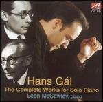 Hans Gál: The Complete Works for Solo Piano