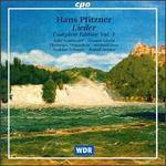 Hans Pfitzner: Lieder, Complete Edition, Vol. 1