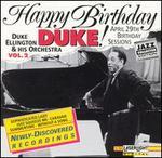 Happy Birthday, Duke! the Birthday Sessions, Vol. 2