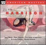 Harbison: Early Works