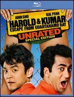Harold and Kumar Escape from Guantanamo Bay [With The Hangover Part II Movie Cash] [Blu-ray]